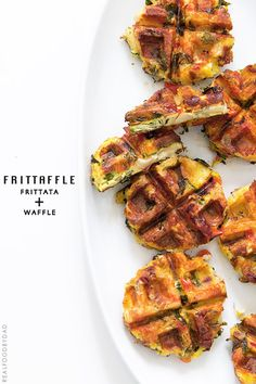 Frittaffle with Real Food by Dad