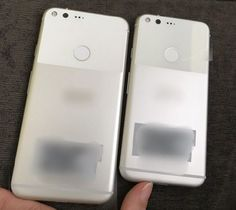 The launch is getting closer and the photos are getting clearer.  Everyone has been speculating about the launch of the expected Pixel and Pixel XL phones and now we have our best look yet at the unannounced Google phones. The photos revealed by Android Police are really the first clear look we've seen and show both phones side-by-side in all their glory.  Filling in the gaps around the identifying marks that have been blurred out and discounting the discoloration from poor lighting we're…