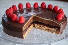 Norwegian Food, European Cuisine, No Bake Desserts, Let Them Eat Cake, No Bake Cake, Cake Recipes, Sweet Tooth, Deserts, Good Food