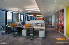 Best semi open office plans images open office design