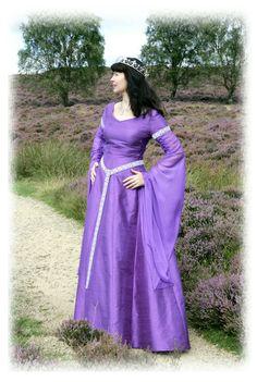 Nine Ladies Design - Medieval Wedding Gowns