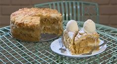 חיים כהן היה גאה. עוגת תפוחים סולת קלי קלות