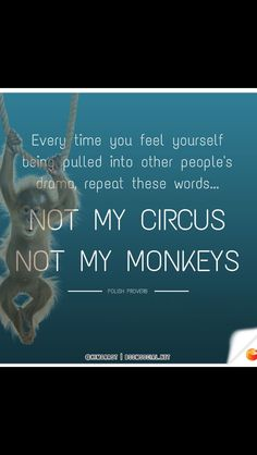 Truth Polish Proverb, Not My Circus, Someone Told Me, Other People, Proverbs, Drama, How Are You Feeling, Feelings, Words