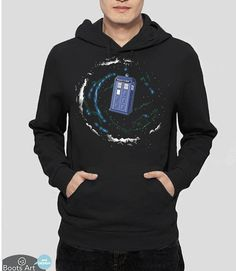 Doctor Who Clothing  Geek Clothing  Geek Hoodie  Space by BootsArt
