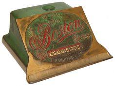 Advertising cigar cutter, The Boston Cigar-Esquisitor,