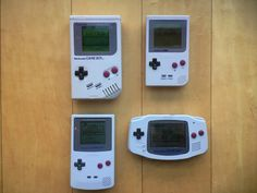 Vintage Video Games, Retro Video Games, Old Game Consoles, Nintendo Handheld, Videogames, Portable Console, Nintendo Systems, Nintendo Switch Accessories, Penny Arcade