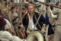 Master and Commander.  Flat out awesome movie!