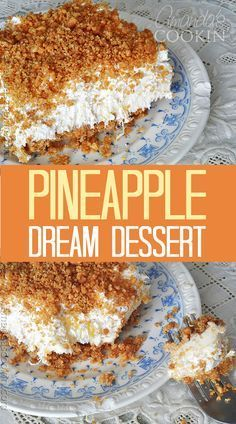 Mildly popular. Would be better with a thicker crust that stuck together. Made in 9x13 and the crust would have been thicker in a 9x9. It's called Pineapple Dream Dessert. Yum!