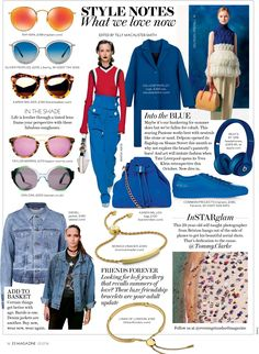 Zanzan 'Ortolan' in the London Evening Standard Magazine ~ http://zanzan.co.uk/products/ortolan-3