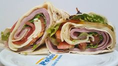Monte seu Sanduíche. Sanduíche de pão folha com maionese light, presunto, mussarela, alface e tomate #lanchePOLOS (em Polos Pães e Doces)