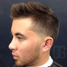 Undercut Haircut With Choppy Top