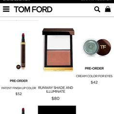NOW AVAILAVLE  Pre -Order Online @tomford #Spring2016 #Collection  What's on your list? XO #TRENDMOOD #tf #tomfordbeauty #tomfordspring2016 #tomford #fashion #makeup #wakeupandmakeup #ilovemakeup #makeuphaul #makeupporn #shopping #makeupjunkie THANK U for this amazing update Boo @colourpopcult  by trendmood1