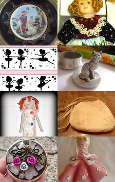 Girls Love Valentine's Day by Rhoda T on Etsy--Pinned with TreasuryPin.com
