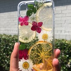 Pressed flower dried flower clear phone case iphone 11 case iphone 11 pro max case iphone xr case iphone xs max case iphone x case 7 8 plus - Pflanzen Diy Resin Art, Epoxy Resin Art, Diy Resin Crafts, Diy And Crafts, Stick Crafts, Resin Molds, Idee Diy, Diy Phone Case, Resin Jewelry