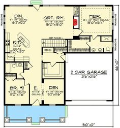 Super Small Walk In Closet Ideas Layout Built Ins Floor Plans 31 Ideas Ranch House Plans, House Floor Plans, Building A Porch, Building A House, Building Ideas, Building Plans, Architectural Design House Plans, Architecture Design, The Plan