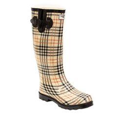 Women's Flat Wellies Rubber Rain & Snow Rain Boots (Checker Plaid) (11) Forever Young Inc. http://www.amazon.com/dp/B00H2NYE6O/ref=cm_sw_r_pi_dp_vi62tb1DFX7AXFRR