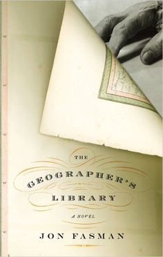 The Geographer's Library: cover design by Gabriele Wilson