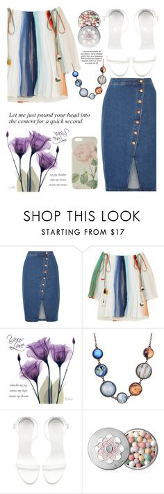 """200"" by erohina-d ❤ liked on Polyvore featuring Madewell, Chloé, Zara, Guerlain and Ted Baker"
