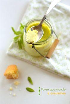 verveine crème oeufs