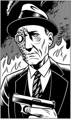 William Burroughs by Charles Burns