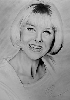 Doris Day, i love by Silk86.deviantart.com on @DeviantArt