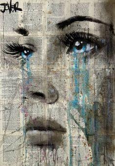 "Saatchi Art Artist Loui Jover; Drawing, ""ever been ...."" #art"