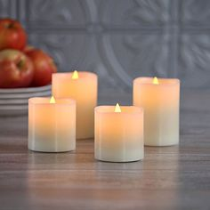 Set of 4 Flameless Warm White LED Wax Pillar Candles with... https://www.amazon.com/dp/B016WOYLTI/ref=cm_sw_r_pi_dp_x_clh7xbV9AGDW6