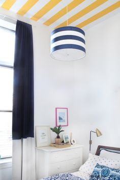 "Floor to Ceiling Curtains | Top 10 ""Small Space"" Secrets to Steal from the February Issue 