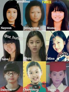 "Tzuyu and Chae were so freaking cute (they still) if I watched Momo, Sa.na and Nayeon at that time I would totally tell : ""they will never become famous"" Mina being a beautiful penguin jeongyeon being jeongyeon Jihyo Dahyun. Nayeon, Kpop Girl Groups, Korean Girl Groups, Kpop Girls, Lockscreen Hd, Signal Twice, Blackpink Twice, Twice Group, Twice Album"