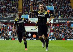 Aston - Chelsea, May 11, 2013.