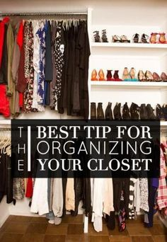 The Best Closet Organizing Trick You Need To Know Now!!