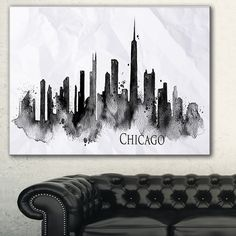 This Large Cityscape Canvas Art is printed using the highest quality fade resistant ink on canvas. Every one of our fine art giclee canvas prints is printed on premium quality cotton canvas, using the