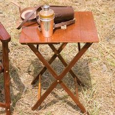 Campaign Furniture: Folding Camp Table – Jill The Nomad – bushcraft camping Camping Table, Picnic Table, Outdoor Camping, Bushcraft Camping, Camping Gear, Campaign Furniture, Luxury Tents, Folding Chair, Folding Tables