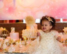 Fairy Princess Theme 1st birthday party.