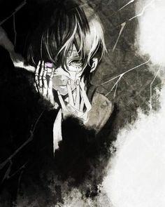 anime, anime art, anime boy, anime guy, anime sad, art, b&w, black and white, boy, guy, manga, manga boy, manga guy, monochrome, nice, sad, tumblr, monochrome anime, anime black and white