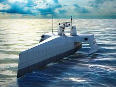 The Navy Is Working On A Drone Ship To Track Submarines. Darpa is designing a submarine tracker drone to work at litorals and harbors. Underwater Drone, Ghost Ship, Drone Technology, Ghost Hunters, Navy Ships, War Machine, Us Navy, Water Crafts, Pilot