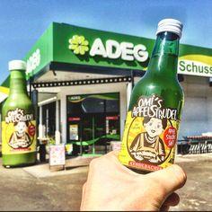@ ADEG Markt Beer Bottle, Retail, Drinks, Apple Strudel, Drinking, Beverages, Beer Bottles, Drink, Sleeve
