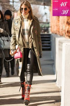 How to Dress For Fall and Winter Weather | POPSUGAR Fashion