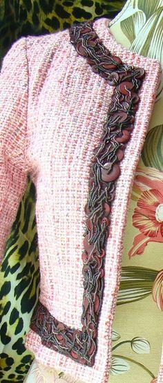 Pink tweed jacket | trim                                                                                                                                                     More