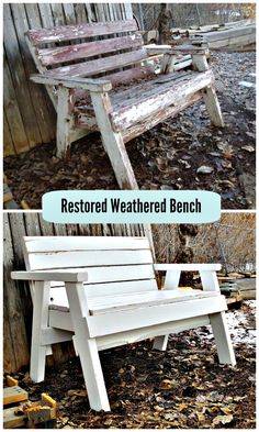 How To Restore A Weathered Bench