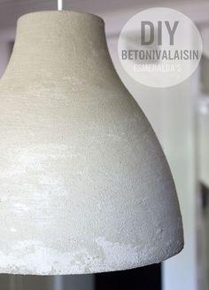 DIY Concrete Lamp   DIY