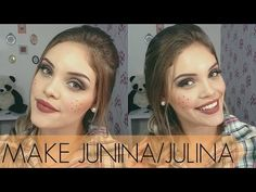 Assista esta dica sobre Maquiagem para festa Junina/Julina e muitas outras dicas de maquiagem no nosso vlog Dicas de Maquiagem.