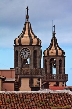 Tagged: Orotava, Canary Islands, Architecture, Spain, Travel, Clock, Tower, Europe, Africa,