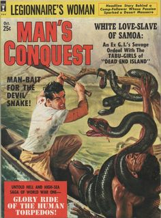 men's adventure magazine - Buscar con Google