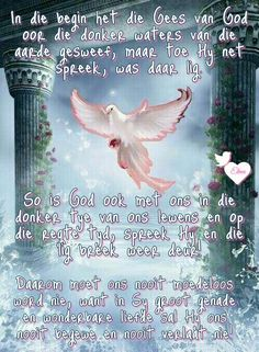 Sympathy Quotes, Afrikaanse Quotes, Goeie More, Christian Art, Faith In God, True Words, Beautiful Words, Christianity, Qoutes