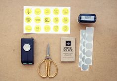oh, hello friend: you are loved.: diy business cards