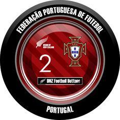 DNZ Football Buttons: Seleção de Portugal