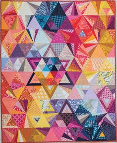 """Featured in """"Quilting Is My Therapy"""". Love the color placement!"""