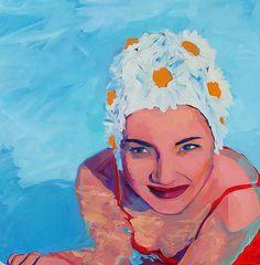 Tracey Sylvester Harris | Pinturas | Rostro del Amor | Skidmore Arte Contemporáneo