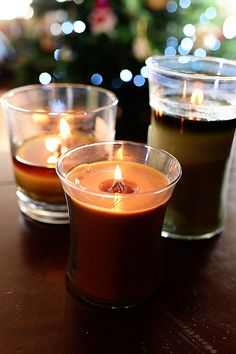 WoodWick Candles...their fragrances are fabulous, and the crackling noise they make while they burn? Oh my goodness. It could lull me right to sleep. Lovely.